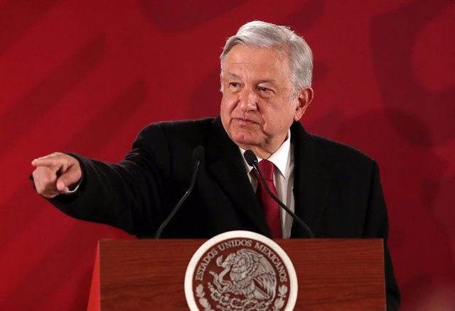 30 January 2019, Mexico, Mexico City: Mexican President Andres Manuel Lopez Obrador