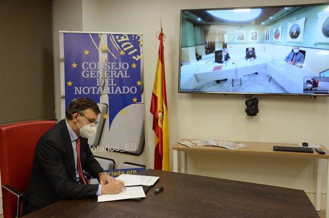 El Notariado y la Agencia Valenciana Antifraude cooperarán en la lucha contra la corrupción