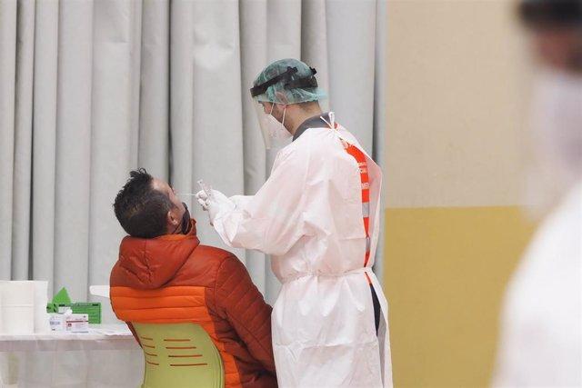 Test de antígenos en un cribado masivo