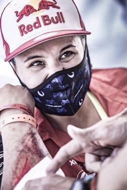 Rally.- Laia Sanz abandona el Andalucía Rally por quemaduras en su brazo