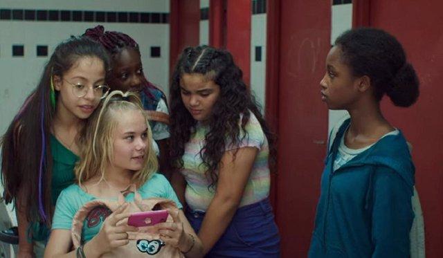 Imagen de Guapis (Cuties) la película de Netflix