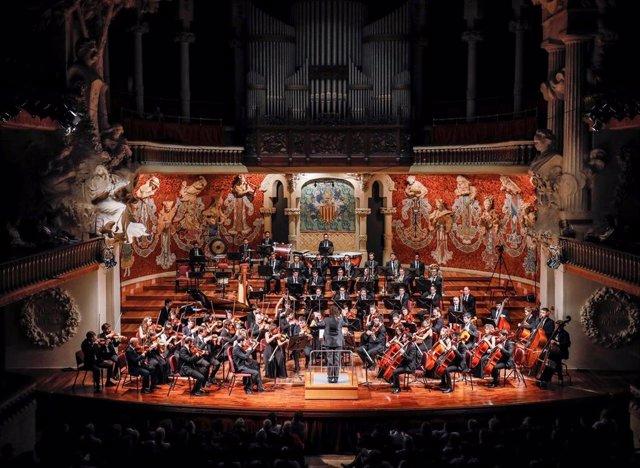Concierto de la orquesta sinfónica Camera Musicae en el Palau de la Música