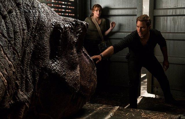 Chris Pratt en Jurassic World: El reino caído
