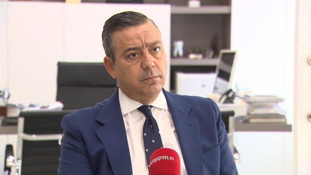 Óscar Castro, preisdente del Consejo de Dentistas de España.