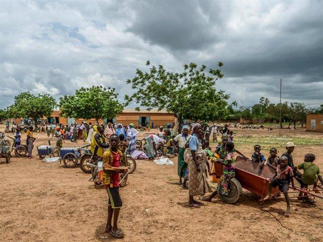 Burkina Faso.- Mueren 25 desplazados internos en un ataque en Burkina Faso