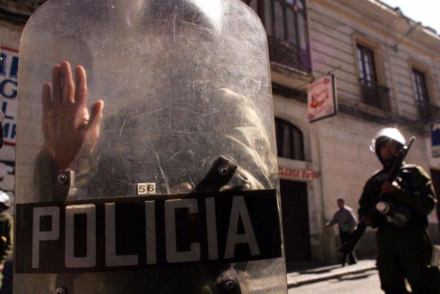 Bolivia.- Santa Cruz despliega 500 agentes de Policía para proteger su Tribunal