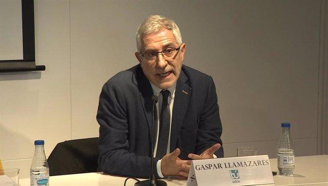 El exlíder de Izquierda Unida Gaspar Llamazares.