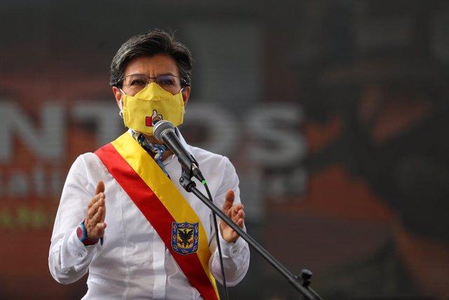 Coronavirus.- La alcaldesa de Bogotá achaca a las manifestaciones el aumento de