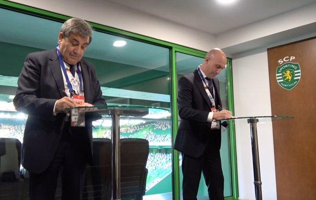 Fútbol.- España y Portugal anuncian su candidatura conjunta para el Mundial de 2