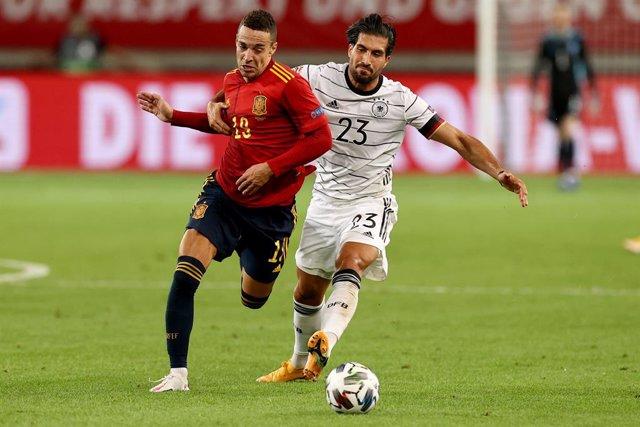 """Fútbol/Selección.- Rodrigo Moreno: """"A medida que fue avanzando el partido fuimos"""