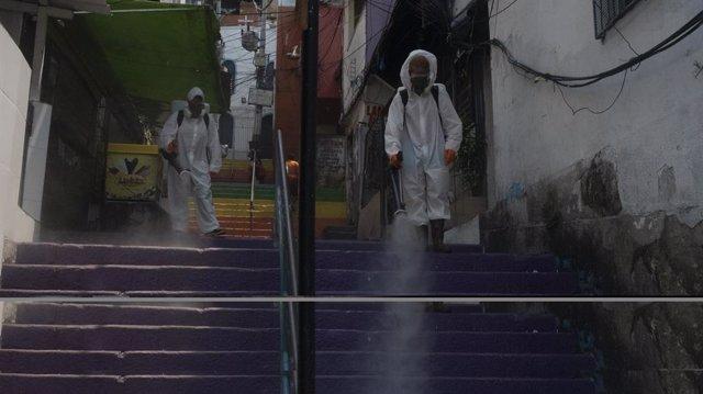 Coronavirus.- Brasil supera los cinco millones de casos de coronavirus