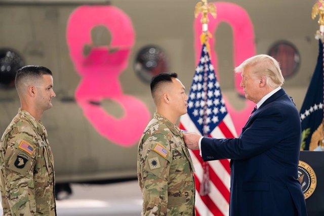 EEUU.- Trump afirma que el resto de las tropas de EEUU en Afganistán deberían re