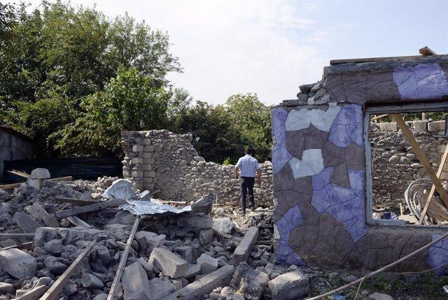 Armenia/Azerbaiyán.- Azerbaiyán responsabiliza a Armenia de la muerte de al meno