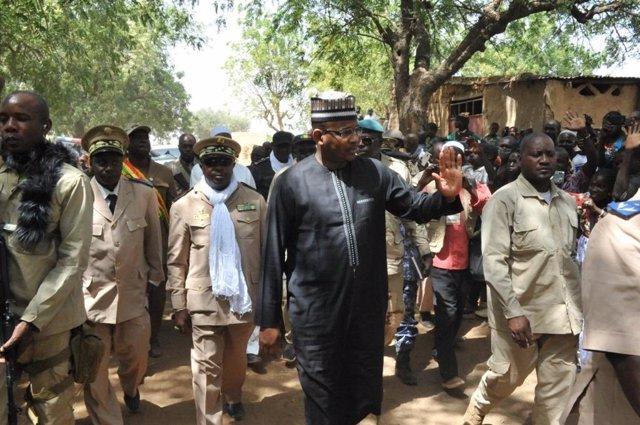 Malí.- El vicepresidente de Malí anuncia la liberación del ex primer ministro y