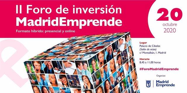 II Foro de inversión Madrid Emprende