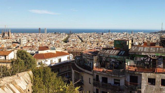 Vista general de Barcelona | Fincas Chicote
