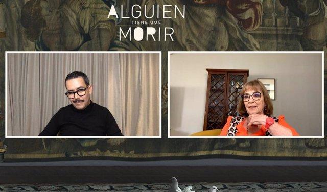 Manolo Caro y Carmen Maura presentan Alguien tiene que morir
