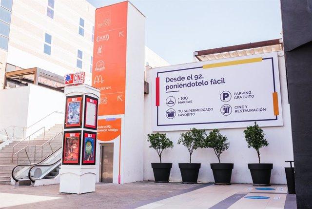 Centro comercial Los Arcos en Sevilla