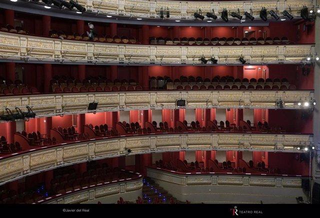 Interior del Teatro Real