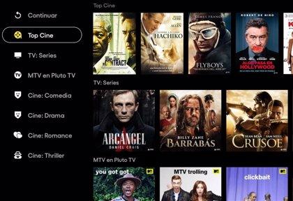 La plataforma gratuita y sin registro Pluto TV estará disponible en España a finales de octubre
