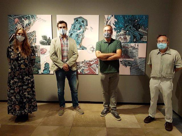La exposición 'Karmen i altres muses' del artista mallorquín Guillem March.