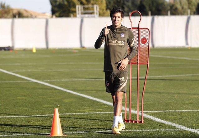 """Fútbol.- José María Giménez: """"El ritmo lo iré cogiendo poco a poco"""""""