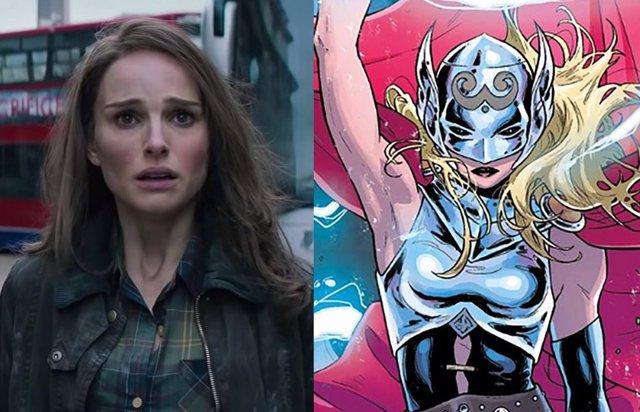 Natalie Portman suelta un gran spoiler de Thor: Love and Thunder