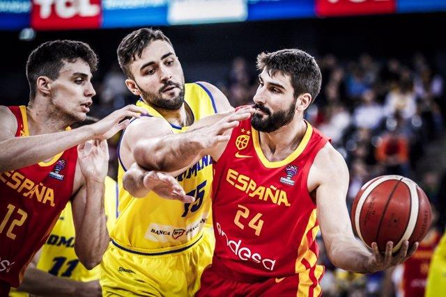 Baloncesto.- España se enfrentará a Israel y Rumanía en formato 'burbuja' en Val