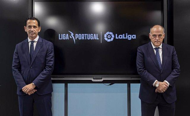 Fútbol.- LaLiga y Liga Portugal extienden su cooperación hasta 2023