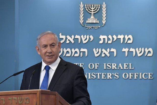 O.Próximo.- Netanyahu llevará la semana que viene el acuerdo con EAU ante el Gob