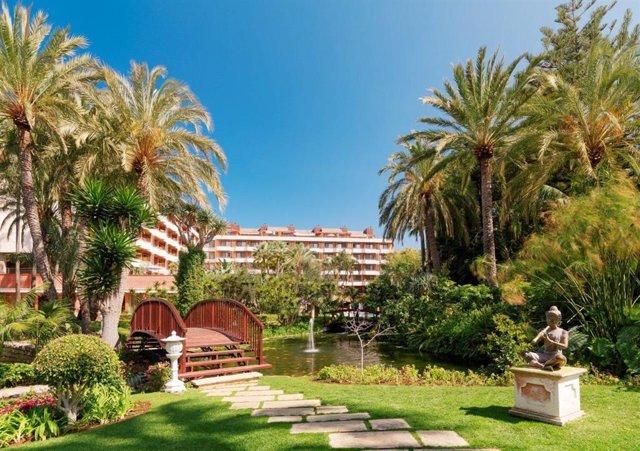 Jardines del Hotel Botánico