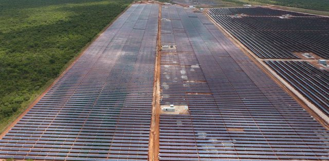 Planta solar de Ngonye en Zambia de Enel Green Power