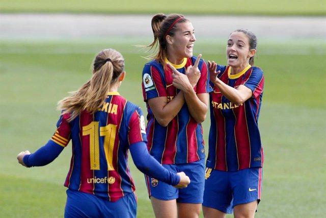 Fútbol.- El Barcelona se cita con el EDF Logroño en la final de la Copa de la Re