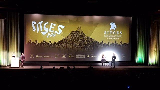 Acte d'inauguració del Festival de Sitges 2020