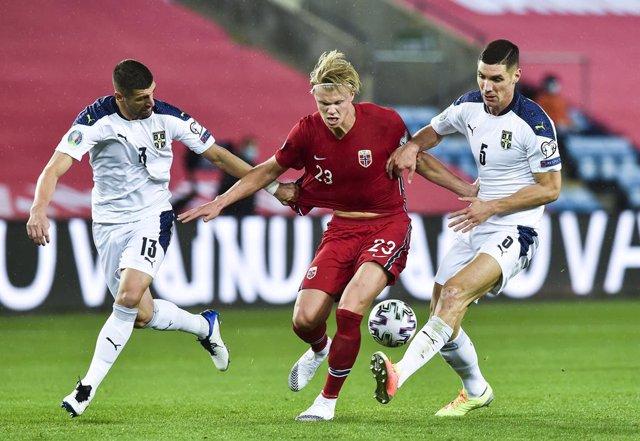 Fútbol/Eurocopa.- (Crónica) Odegaard y Haaland se quedan sin Eurocopa