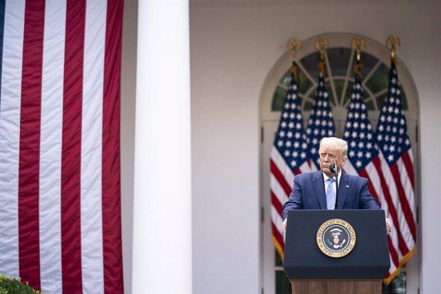 """EEUU.- La Casa Blanca anuncia que Trump """"ha respondido bien al tratamiento"""" y re"""