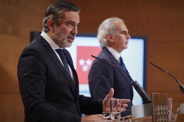 El consejero de Justicia, Interior y Víctimas, Enrique López.