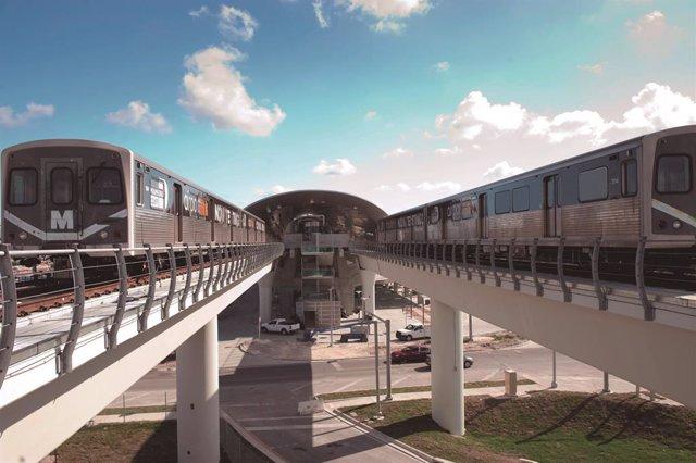 Economía.- OHL se adjudica la construcción de una estación de tren en Estados Un