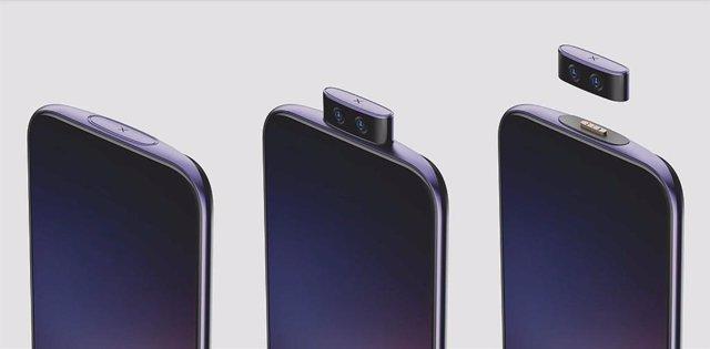 Vivo diseña una cámara frontal desmontable para sus smartphones