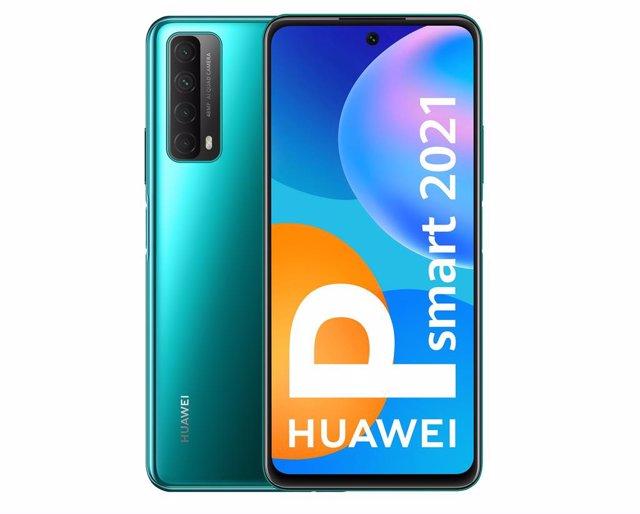 Huawei P smart 2021, con batería de 5.000mAh y carga rápida de 22,5W, anuncia su