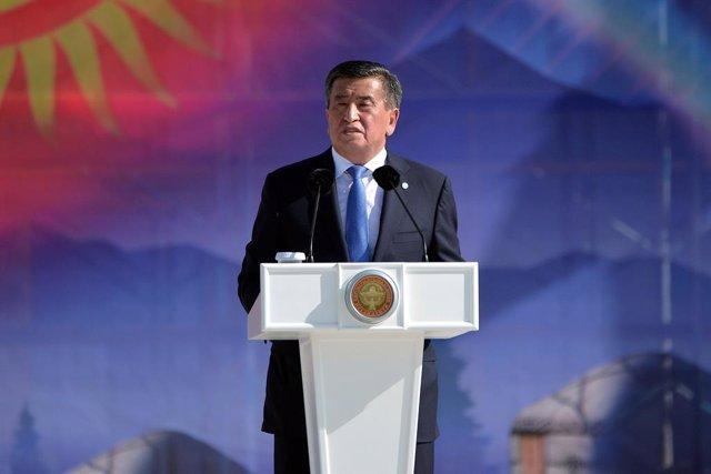 AMP.- Kirguistán.- El presidente de Kirguistán se ofrece a dimitir una vez se ha