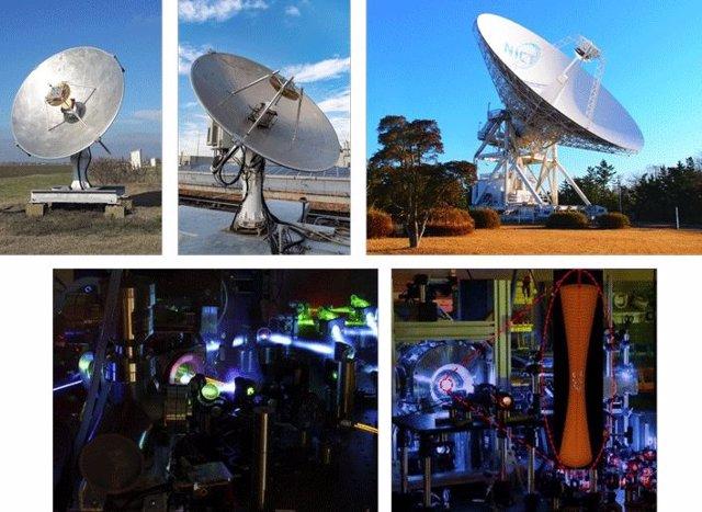 Cuásares relevan a los satélites para coordinar la hora con precisión