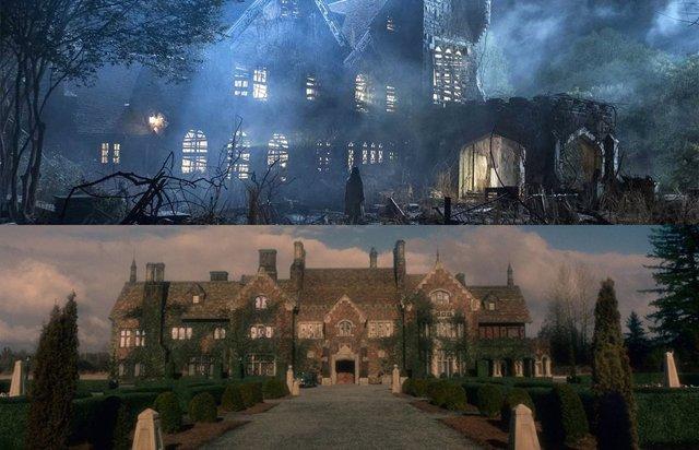 La maldición de Bly Manor y Hill House