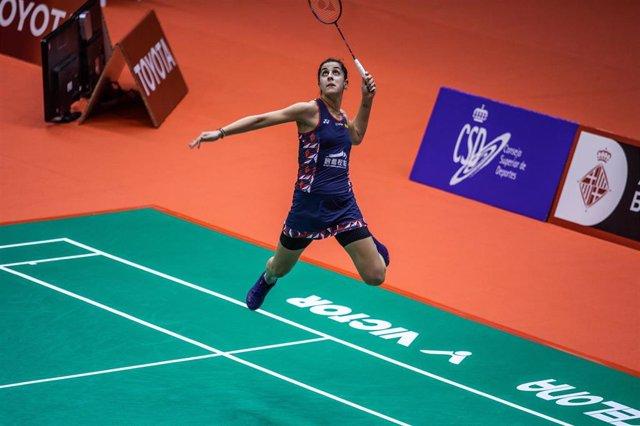 Carolina Marín en el Masters de España 2020