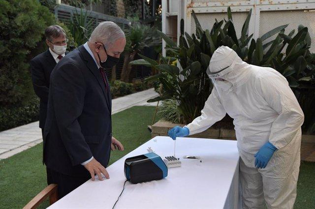 Coronavirus.- Israel registra un descenso de casos diarios mientras Netanyahu co
