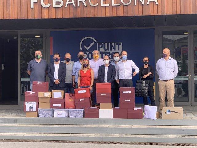 Fútbol.- El abogado del Barça cifra en 5 las firmas sospechosas en la moción de