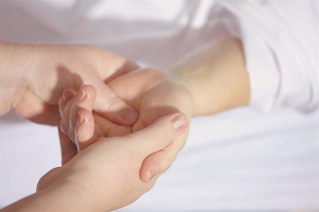 Fisioterapeuta, masaje, fisioterapia, lesión