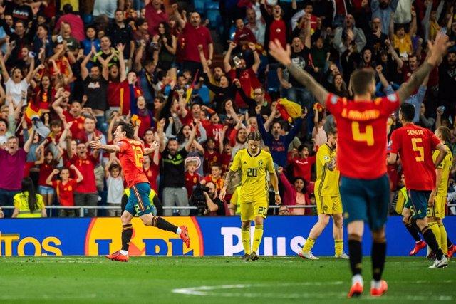 Fútbol/Selección.- Luis Enrique podrá contar con Oyarzabal en el duelo ante Suiz