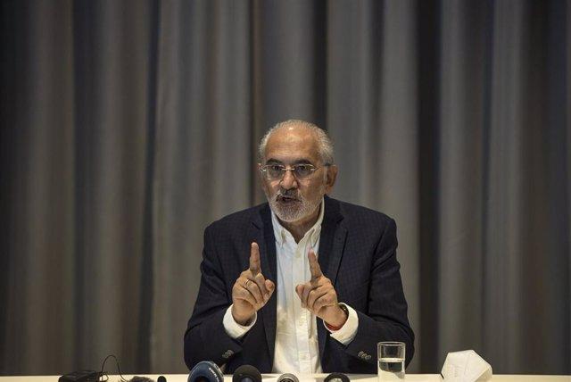 Carlos Mesa, candidato a la Presidencia de Bolivia