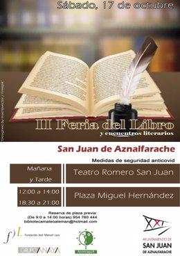 Cartel de la Feria del Libro de San Juan de Aznalfarache